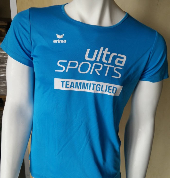 Team US T-Shirt Damen Blue Vorderansicht
